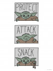 Star Wars Mandalorian The Child Protect Attack Snack