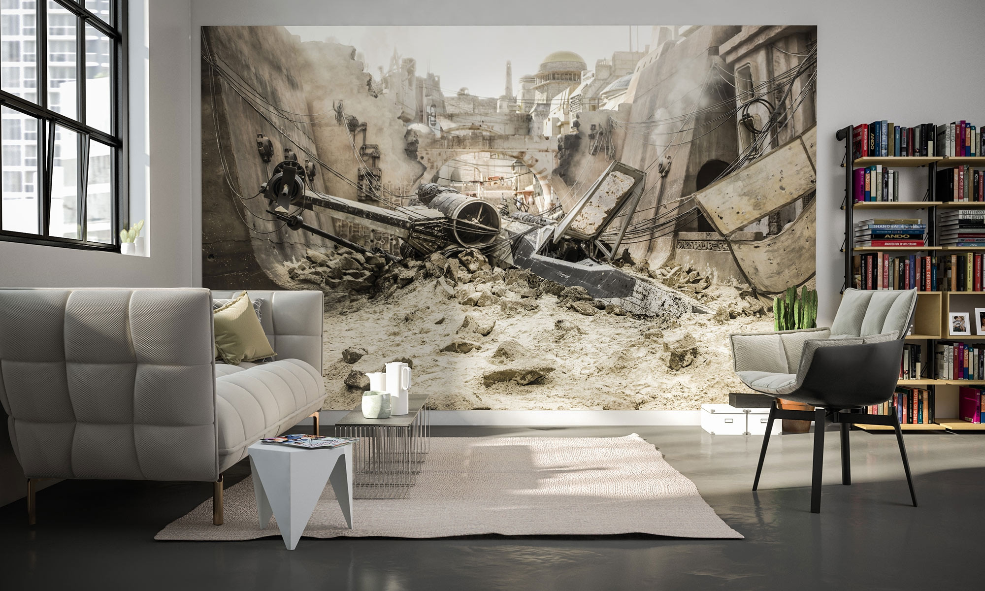 non woven photomural star wars x wing 030 dvd4 from. Black Bedroom Furniture Sets. Home Design Ideas