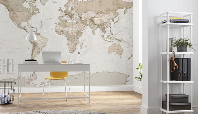 Murals for your home office