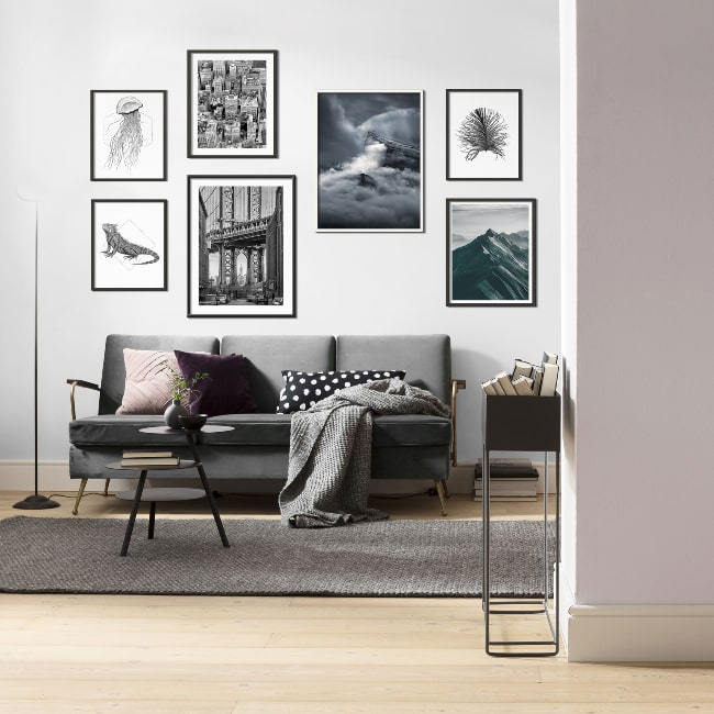 Art prints with framing or without framing