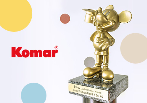 Komar brings the magical world of Walt Disney into homes