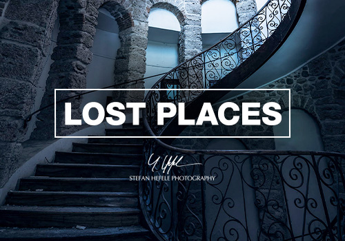 Lost Places photomurals by Stefan Hefele
