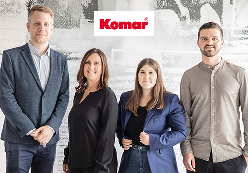New management board in the Komar team