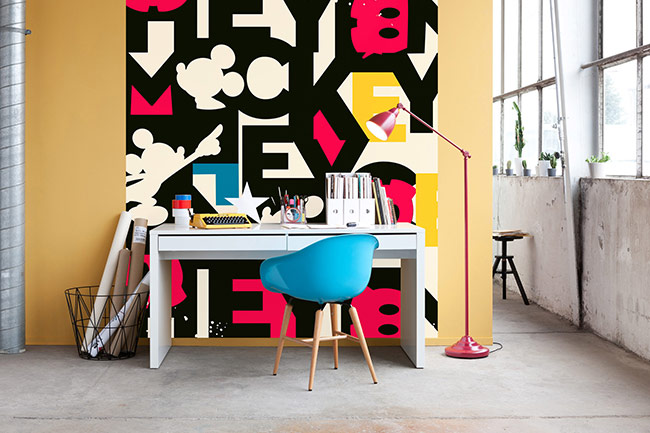 Mickey Mouse photomurals – A striking wall statement