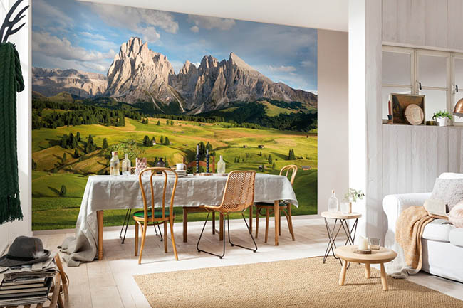 Photomurals with mountains – Breathtaking landscapes to dream about