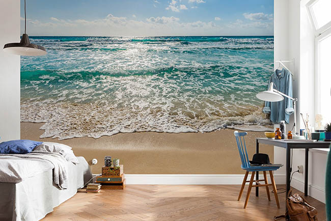 The advantages of photomurals with beaches & seas