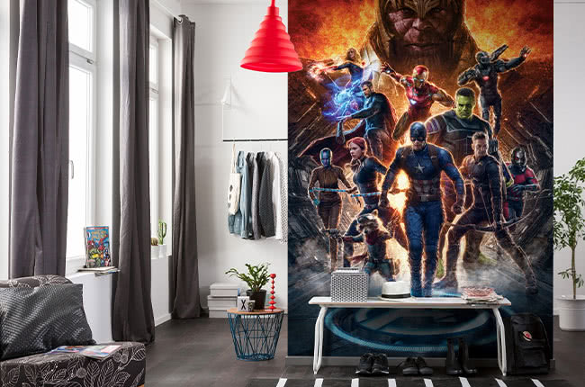 The Avengers photomurals – superheroes on a mission