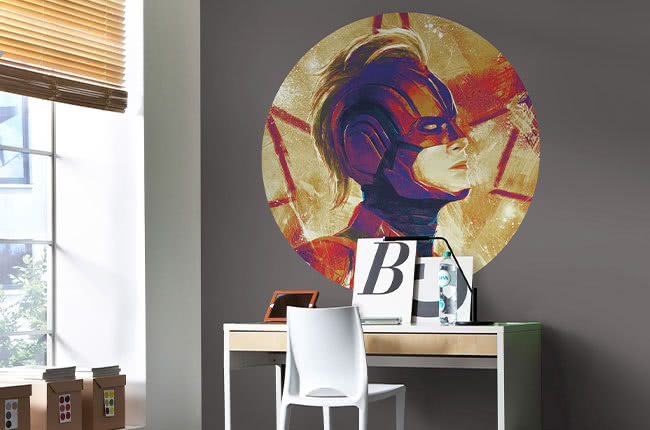 Marvel paintings photomurals – refined style