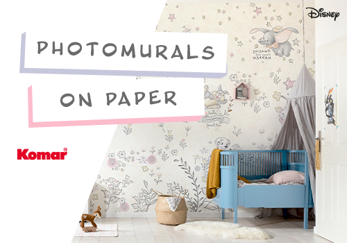 Komar photomurals on paper – perfect for kids' rooms