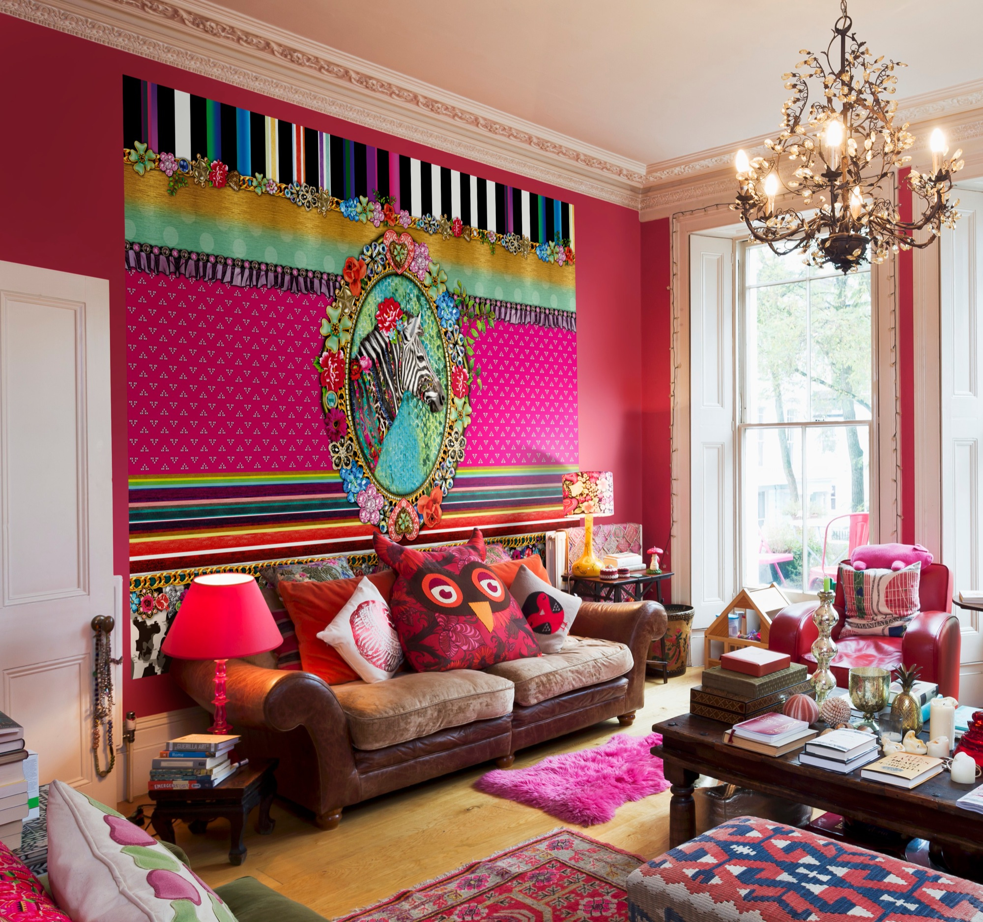 colours galore: the bohemian interior decor style!