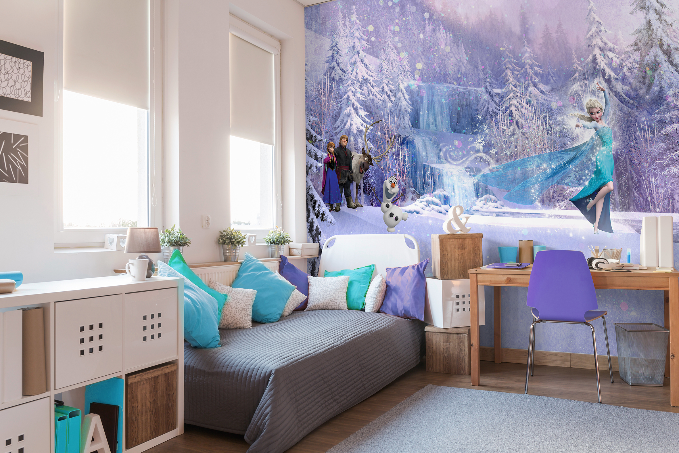 princess kids designs themes bedroom furniture disney ideas contemporary frozen