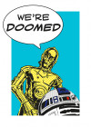 Star Wars Classic Comic Quote Droids