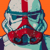 Star Wars Mandalorian Pop Art Stormtrooper
