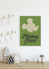Mickey Mouse Green Head