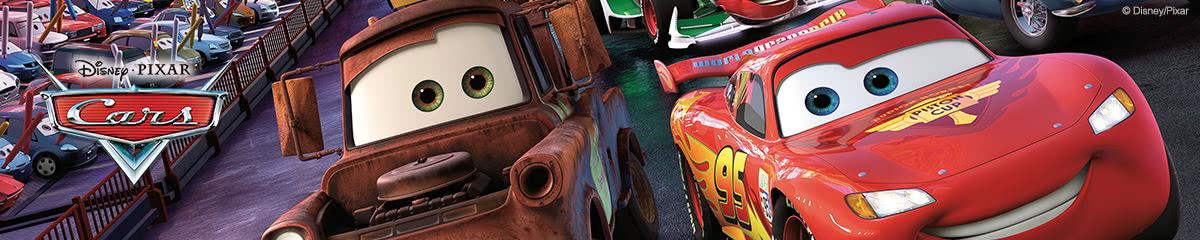 Disney Cars-Tapeten – Mit Highspeed an die Jungenzimmer-Wand.