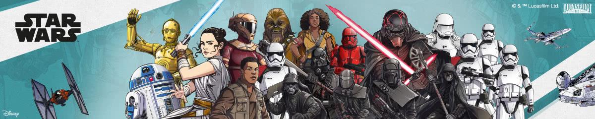 Star Wars Cartoon Wanddekoration