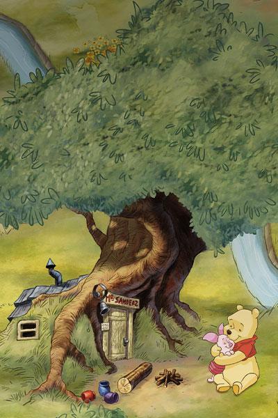 Winnie Pooh - Hundertmorgenwald