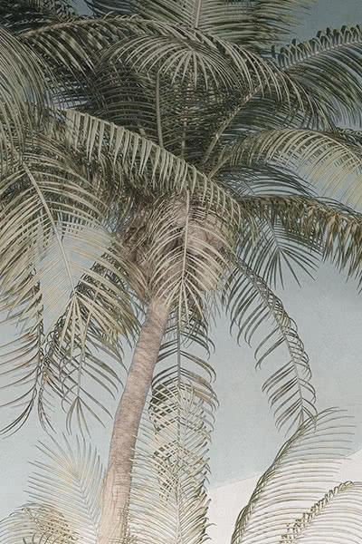 Tropische Vintage Wandkunst