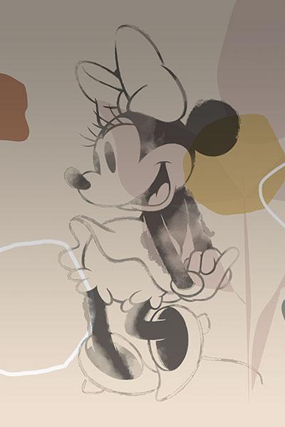 Micky & Minnie Organic Shapes