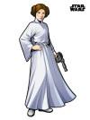 Star Wars XXL Princess Leia
