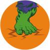 Avengers Hulk's Foot Pop Art