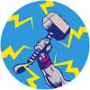 Avengers Thor's Hammer Pop Art