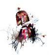 Star Wars Watercolor Boba Fett