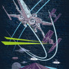Star Wars Classic Concrete X-Wing