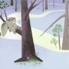 Dumbo Sleep on Tree