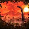 Brachiosaurus Panorama