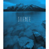 Word Lake Silence Blue