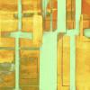 Cuboids Linedup orange-mint