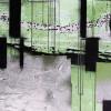 Squares Dropping grey-green