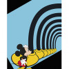 Mickey Mouse Foot Tunnel