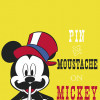 Mickey Mouse Moustache