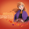 Frozen 2 Anna Autumn Spirit