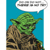 Star Wars Classic Comic Quote Yoda