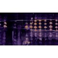 Zigzag Spangling darkviolett