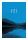 Word Lake Hush Blue