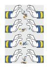 Donald Duck Hands