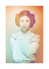 Star Wars Classic Icons Color Leia