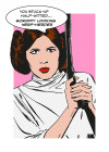 Star Wars Classic Comic Quote Leia