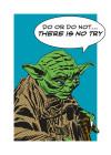 Star Wars Classic Comic Quote Yoda