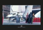 Star Wars Classic RMQ Death Star Shuttle Dock