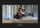 Star Wars Classic RMQ Endor Speeder