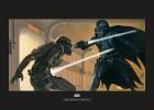 Star Wars Classic RMQ Vader Luke Hallway