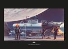 Star Wars Classic RMQ Yavin Hangar