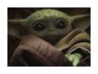 Star Wars Mandalorian The Child Cute Face