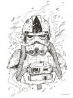 Star Wars Pilot Drawing