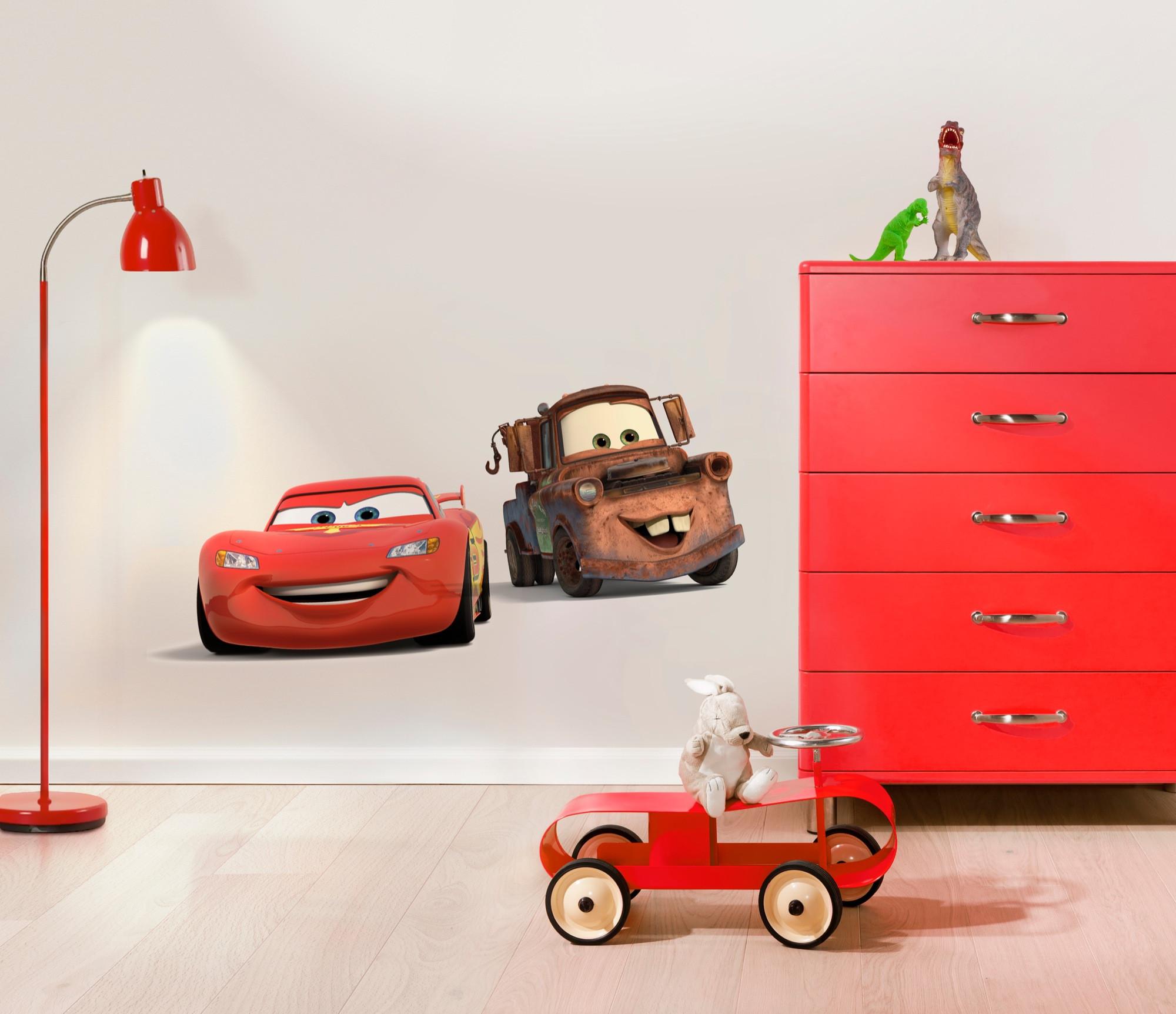 Selbstklebendes komar freestyle wandtattoo cars friends - Wandtattoo cars ...
